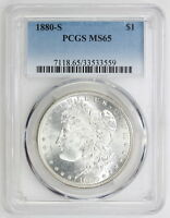 1880 S MORGAN SILVER DOLLAR MS 65 PCGS 3559