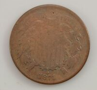 1871 TWO-CENT PIECE G22