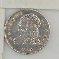 1830 CAPPED BUST DIME Z71