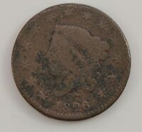 1826 MATRON HEAD NORMAL DATE LARGE CENT G92