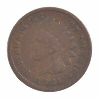 1884 INDIAN HEAD ONE CENT Z23