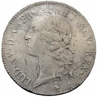 FRANCE 1769 A   ECU   LOUIS XV   SILVER