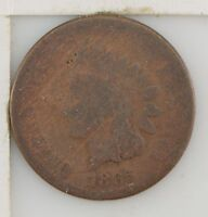 1865 INDIAN HEAD ONE CENT Z36