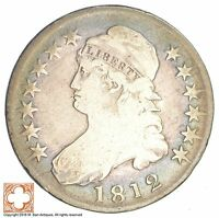 1812 CAPPED BUSTED HALF DOLLAR SB09