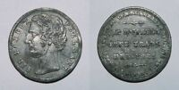 SIR ROBERT PEEL   FREE TRADE MEASURES   PEWTER MEDALET 1846