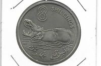 GAMBIA 1970 8 SHILLINGS COIN