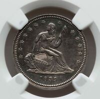 1839 NO DRAPERY LIBERTY SEATED QUARTER NGC AU DETAILS LIGHTLY CLEANED