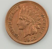 1907 INDIAN HEAD ONE CENT G09