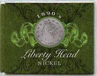 1898 LIBERTY HEAD V NICKEL & COLLECTIBLE COIN CACHET - PHILADELPHIA - L5C AG365