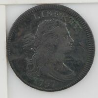 1797 DRAPED BUST LARGE CENT Z95