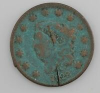 1829 MATRON HEAD LARGE CENT Z83