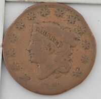 1830 MATRON HEAD LARGE CENT Z79