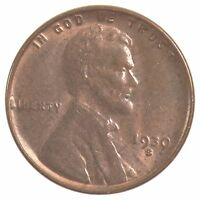 1930-S LINCOLN WHEAT EARS CENT J70