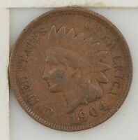 1904 INDIAN HEAD ONE CENT Z03
