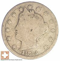 1883 LIBERTY V NICKEL   WITH CENTS XB16