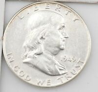 1949 FRANKLIN HALF DOLLAR Z96