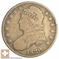 1830 CAPPED BUSTED HALF DOLLAR XB77