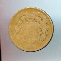 1864  2C TWO CENT PIECE  G