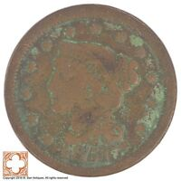 1851 BRAIDED HAIR LARGE CENT XB91