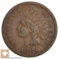 1884 INDIAN HEAD CENT 274