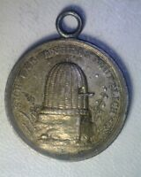 PRUSSIA C. 1800 SILVER CHILDRENS SCHOOL MEDALLET BY LOOS   BEEHIVE