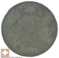 1800 DRAPED BUST LARGE CENT XB58