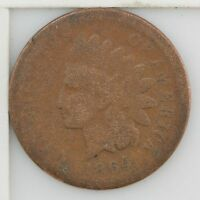 1864 INDIAN HEAD ONE CENT CIVIL WAR DATE 183