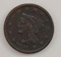 1841 BRAIDED HAIR SMALL DATE LARGE CENT G60