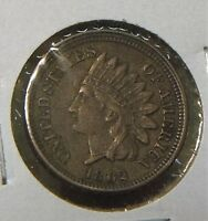 1862 INDIANHEAD CENT  VF XF  TOUGH DATE COIN
