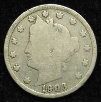 1903 LIBERTY V NICKEL GOOD B03