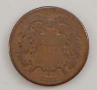 1871 TWO-CENT PIECE G24