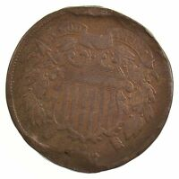 1867 TWO-CENT PIECE J06