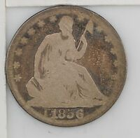 1856 O LIBERTY SEATED HALF DOLLAR Z91