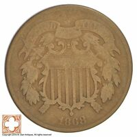 1868 TWO CENT PIECE XB31