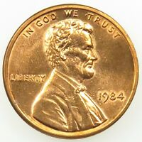 1984 UNCIRCULATED LINCOLN MEMORIAL CENT PENNY BU B03