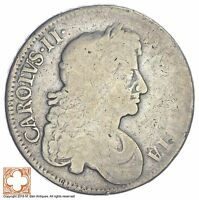 1676 GREAT BRITAIN 1/2 CROWN XB41