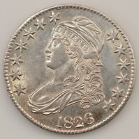 1826 CAPPED BUST SILVER HALF DOLLAR Q14