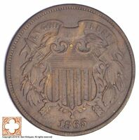 1865 TWO CENT PIECE YB60