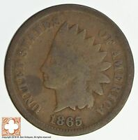 1865 INDIAN HEAD CENT - CIVIL WAR ERA 4800