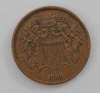 1865 TWO-CENT PIECE Q86