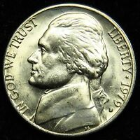 1979 D UNCIRCULATED JEFFERSON NICKEL BU B01