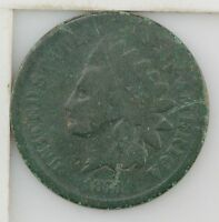 1873 INDIAN HEAD ONE CENT Z55