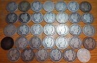 LOT OF 34 DIFFERENT BARBER HALF DOLLARS 1894 1915 PDOS AG VG   NICE COLLECTION
