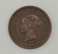 1888 CANADA LARGE ONE CENT QUEEN VICTORIA 2354