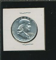 FRANKLIN HALVES SILVER PROOF   1961 A