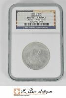 1860 O SEATED LIBERTY HALF DOLLAR SILVER   SS REPUBLIC   NGC SHIPWRECK XC85