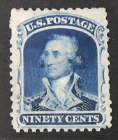 CKSTAMPS: US STAMPS COLLECTION SCOTT39P3 90C WASHINGTON UNUSED NG PROOF