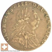 1787 GREAT BRITAIN 6 PENCE XB58