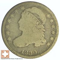 1830 CAPPED BUST DIME XB79