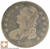 1833 CAPPED BUSTED HALF DOLLAR XB73
